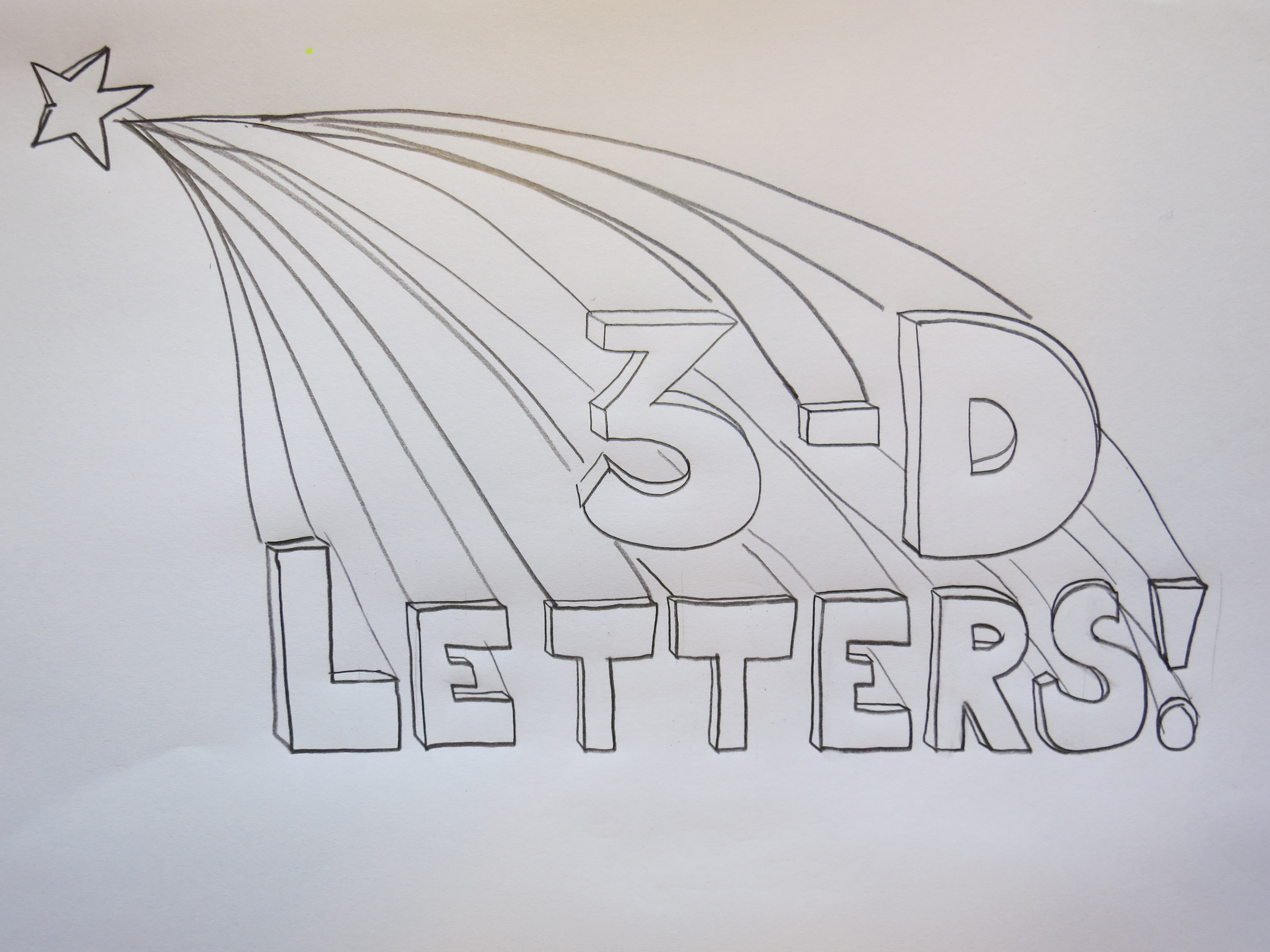 Line Art Letters : Drawing tip how to draw d letters sunde white illustrator